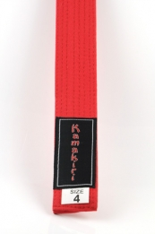 Karate Band Rood